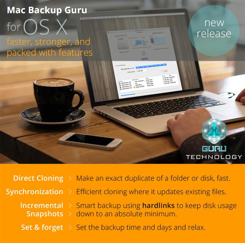 Os X Backup Software