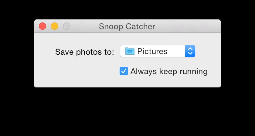 SnoopCatcherWebcamSoftwareScreenshot