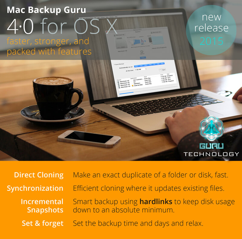 Mac Backup Guru 4.0 for OS X